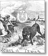Texas Scene, 1855 Metal Print by Granger