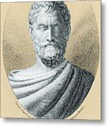 Thales, Ancient Greek Philosopher Metal Print by Photo Researchers, Inc.
