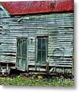 That Old House Down By The Creek Metal Print by Julie Dant