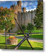 The Anchor Metal Print by Adrian Evans