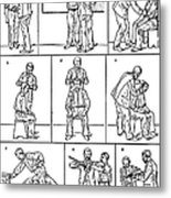 The Anthropometrical Signalment, 1896 Metal Print by Science Source