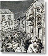 The Anti-chinese Riot In Denver Metal Print by Everett