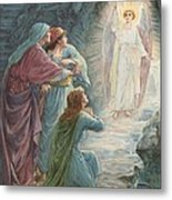 The Appearance Of The Angel Metal Print by Ambrose Dudley