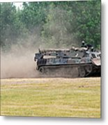 The Bergepanzer Used By The Belgian Army Metal Print by Luc De Jaeger