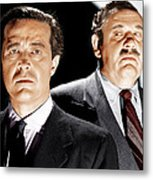 The Big Clock, From Left Ray Milland Metal Print by Everett