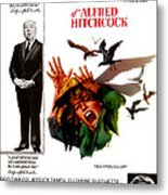 The Birds, Aka Alfred Hitchcocks The Metal Print by Everett