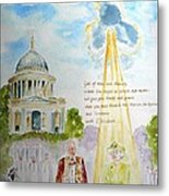 The Blessed Queen Metal Print by Geeta Biswas