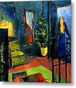 The Blue Room Metal Print by Mona Edulesco