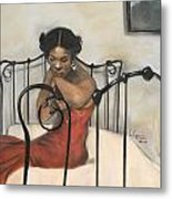 The Blues Metal Print by L Cooper