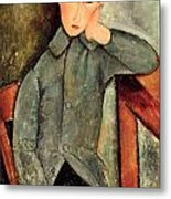 The Boy Metal Print by Amedeo Modigliani