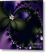 The Butterfly Effect . Square Metal Print by Wingsdomain Art and Photography