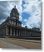 The Chapel At The Royal Naval College Metal Print by Anna Villarreal Garbis