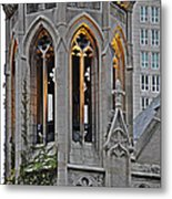 The Church Tower Metal Print by Mary Machare