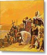 The Crusades Metal Print by Gerry Embleton