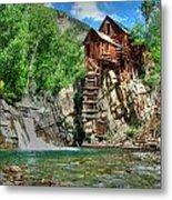 The Crystal Mill 1 Metal Print by Ken Smith