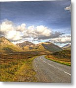 The Cuillin Mountains Of Skye Metal Print by Chris Thaxter