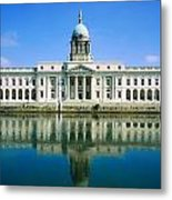 The Custom House, River Liffey, Dublin Metal Print by The Irish Image Collection