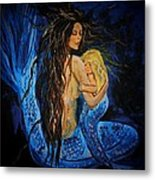 The Deepest Love Series 3 Metal Print by Leslie Allen