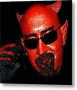The Devil You Say Metal Print by David Lee Thompson