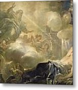 The Dream Of Solomon Metal Print by Luca Giordano