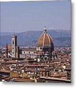 The Duomo Florence Metal Print by Trevor Buchanan