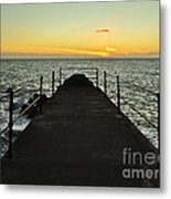 The End Of The Journey Metal Print by Nabucodonosor Perez