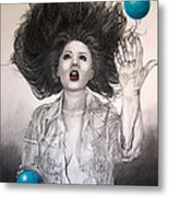 The Entertainer Metal Print by TP Dunn