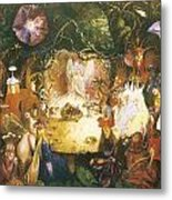 The Fairies Banquet Metal Print by John Anster Fitzgerald