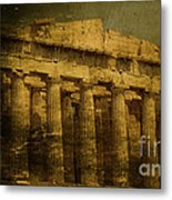 The Fall Of Athens Metal Print by Lee Dos Santos