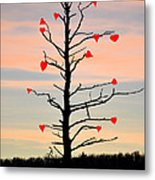 The Fall Of Love Metal Print by Bill Cannon