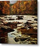 The Fall On The River Avon  Metal Print by John Farnan