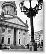 The French Cathedral In Berlin Metal Print by Ilker Goksen