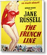 The French Line, Jane Russell, 1954 Metal Print by Everett