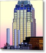 The Frost Tower  Metal Print by Lisa  Spencer
