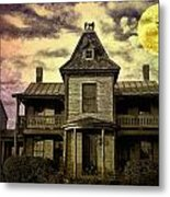 The Haunted Mansion Metal Print by Bill Cannon