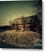 The Hiding Barn Metal Print by Joel Witmeyer