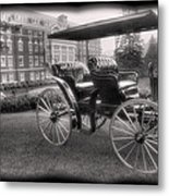 The Homestead Carriage I Metal Print by Steven Ainsworth