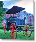 The Homestead Carriage II Metal Print by Steven Ainsworth