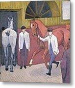 The Horse Mart  Metal Print by Robert Polhill Bevan