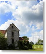 The House On The Hill Metal Print by Karen Wiles
