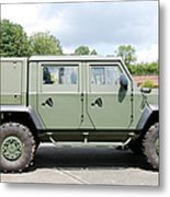The Iveco Light Mulirole Vehicle Metal Print by Luc De Jaeger