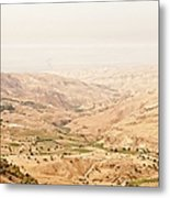 The Jordan Valley, Jordan Metal Print by Jim Foley