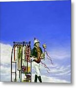 The Journey Of A Performer Metal Print by Cindy D Chinn
