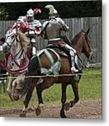 The Joust I Metal Print by Charles Warren