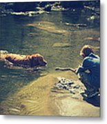 The Joys Of Innocence Metal Print by Laurie Search