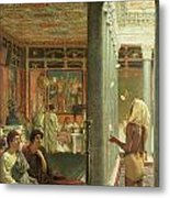 The Juggler Metal Print by Sir Lawrence Alma-Tadema