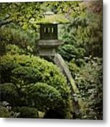 The Lantern Metal Print by Rebecca Cozart