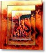 The Letter 2 Metal Print by Joan Kamaru