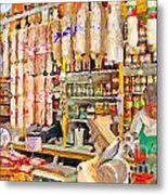 The Local Deli Metal Print by Wingsdomain Art and Photography