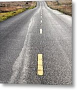 The Long Road Home . 7d9898 Metal Print by Wingsdomain Art and Photography